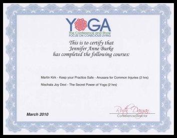 yoga conference border