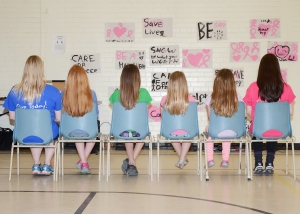 These Strong Kids are getting ready to donate their locks to Pantene Beautiful Lengths!