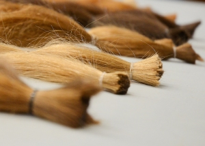 We donated 9 ponytails in total, enough to make a wig for someone in need.