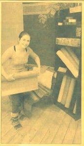 yoga studio newspaper pic
